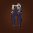 Wrathful Gladiator's Mooncloth Leggings, Wrathful Gladiator's Satin Leggings Model