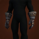 Wicked Leather Gauntlets Model