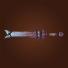 Tempered-Steel Blade, Wintry Claymore Model