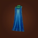 Rippling Azure Cloak, Subterranean Waterfall Shroud Model
