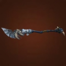 Frostbitten Spear, Frostwolf Mountaineering Stick, Karabor Footman's Pike, Thunderlord War Spear, Tormented Polearm, Assassin's Spear, Munificent Polearm, Turbulent Polearm, Grimthorn's Fearsome Halberd, Grandiose Polearm, Formidable Polearm Model