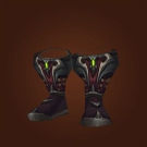 Interrogator's Bloody Footpads, Molten Blood Footpads Model