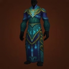 Robes of the Burning Acolyte, Mercurial Vestment, Mercurial Robes Model