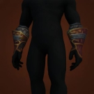 Gleaning Gloves, Vicious Charscale Gloves Model
