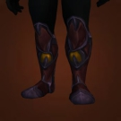Sollerets of Spirit Splitting, Deepwater Greatboots, Deepwater Greatboots Model