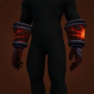Flickering Handguards, Gauntlets of the Molten Giant, Handguards of the Molten Giant Model