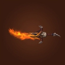 Mindbender's Flameblade, Blazing Demonhilt Sword Model