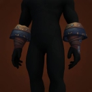 Crafted Malevolent Gladiator's Leather Gloves, Malevolent Gladiator's Leather Gloves, Malevolent Gladiator's Leather Gloves Model