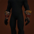 Wild Gladiator's Ironskin Gloves, Warmongering Gladiator's Ironskin Gloves Model