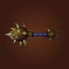 Evermorn Scepter, Rangari Initiate Blackjack, Thunderlord Riding Crop, Karabor Honor Guard Mace, Greldrok's Facesmasher, Riverbeast Femur, Gordunni Skullthumper, Tormented Warmace, Vorpil's Ribcrusher, Munificent Warmace, Turbulent Warmace, Zolvolt's Shocking Mace, Grandiose Warmace, Formidable Warmace Model