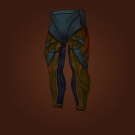 Nether Blast Leggings, Yeti-Hide Legguards Model