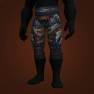 Malevolent Gladiator's Leather Legguards, Crafted Malevolent Gladiator's Leather Legguards Model