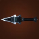 Gypsy Blade, Glimmering Orca Tooth, Etched Dagger, Razor-Sharp Icicle Model