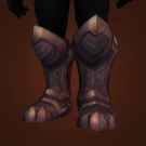 Curserunner Soulcrushers, Horizon Line Warboots, Leadfoot Earthshakers, Etched Dragonbone Warboots, Valkyra Protector Greatboots, Salt-Laden Stompers, Treads of Fates Entwined, Duskwatch Guard's Boots, Pathfinders of Dark Omens, Rook Footman's Warboots, Vault Patroller's Warboots Model