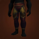 Leggings of the Unforgiving Tomb, Substitute Gunner's Leggings Model