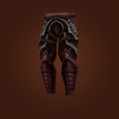 Earthsoul Leggings, Skulker's Greaves Model