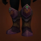 Boots of Raging Haze, Crushing Treads of Anger, Phasewalker Striders, Boots of the High Adept, Fire-Chanter Boots, Treads of Rejuvenating Mists, Statue Summoner's Treads, Fire-Chanter Boots Model