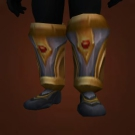 Blue's Greaves of the Righteous Guardian Model