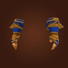 Replica Knight-Lieutenant's Silk Gloves, Replica Knight-Lieutenant's Silk Handwraps Model