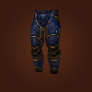 Leggings of Protective Auras, Blackened Legplates of Feugen Model