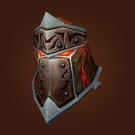 Helm of Blazing Glory, Helmet of the Molten Giant, Faceguard of the Molten Giant Model