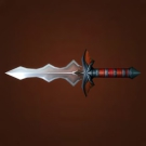 Demon Blade, Heartseeker, Screaming Dagger, Balanced Heartseeker, Wolfrider's Dagger, Nether-Stalker's Blade Model