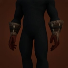 Vigorous Handguards, Vigorous Gloves, Ragged Leaf Grips, Bloodied Leather Gloves, Wendigo Gloves, Webspinner Gloves Model