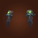 Crafted Malevolent Gladiator's Mooncloth Gloves, Crafted Malevolent Gladiator's Satin Gloves Model