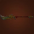Inlaid Spear, Wind's Rest Spear, Admiral Taylor's Glaive Model