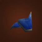 Blue Dragonscale Shoulders Model