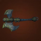 Barnacle-Coated Greataxe, Nethergarde Broadaxe Model