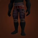 Deadly Gladiator's Silk Trousers Model