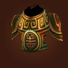 Runed Copper Breastplate Model