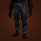 Midnight Legguards, Midnight Legguards, Leggings of Assassination, Syreian's Leggings, Azure Strappy Pants Model