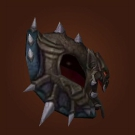 Mantle of Darkness, Vengeful Gladiator's Leather Spaulders Model