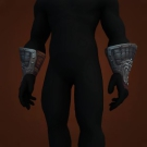 Gloves of Forgotten Wisdom, Ravenmane's Gloves, Enameled Grips of Solemnity, Ordon Legend-Keeper Gauntlets Model