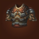 Ravaged Leather Chestguard Model