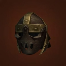 Titan-Forged Leather Helm of Dominance, Gaze of the Somber Keeper Model