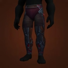 Brutal Gladiator's Dreadweave Leggings Model