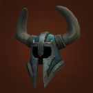 Hillstride Helm, Whitewater Helmet, Whitewater Headguard, Helm of the Fel Shaman Model