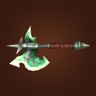 Fel Edged Battleaxe Model