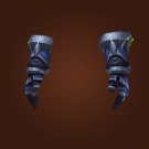 Brutal Gladiator's Leather Gloves Model