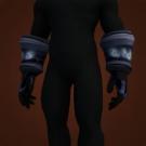 Replica Blood Guard's Satin Gloves, Replica Blood Guard's Satin Handwraps Model