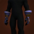 Wrathful Gladiator's Satin Gloves Model