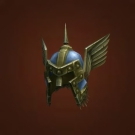 Brilliant Titansteel Helm, Fang-Deflecting Faceguard, Titan-Forged Plate Headcover of Salvation, Helm of the Bested Gallant Model