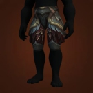 Dreadful Gladiator's Plate Legguards, Crafted Dreadful Gladiator's Plate Legguards Model