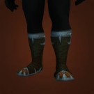 Perpetually Muddy Sandals, Outcast Wanderer's Footrags Model