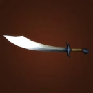 Thief's Blade, Ebon Scimitar, Keen Marshfang Slicer, Extra Sharp Blade, Thief's Blade Model