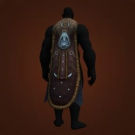 Cloak of Mending Magics, Barkwound Woodcloak Model