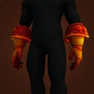 Fiery Plate Gauntlets Model